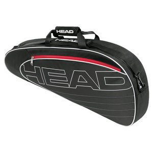 HEAD ELITE PRO TENNIS BAG BLACK AND WHITE