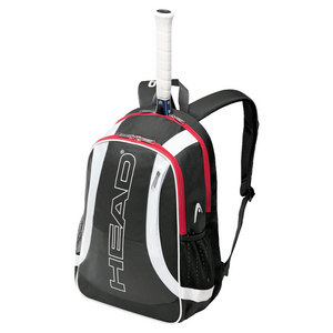 HEAD ELITE TENNIS BACKPACK BLACK AND WHITE