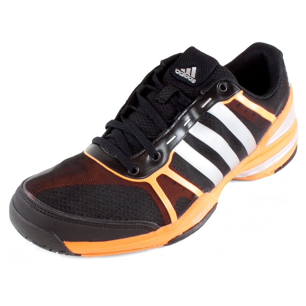 Men's Response Cc Rally Comp Tennis Shoes Black And Solar Zest