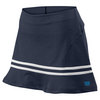 Women`s Specialist 13.5 Inch Ruffle Tennis Skirt Navy by WILSON