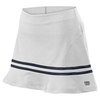 Women`s Specialist 13.5 Inch Ruffle Tennis Skirt White by WILSON