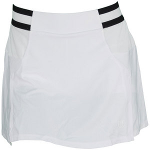 WILSON WOMENS SWEET SPOT TENNIS SKIRT WHITE