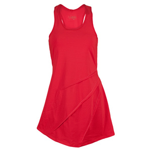VICKIE BROWN WOMENS LEIGH TENNIS DRESS RED