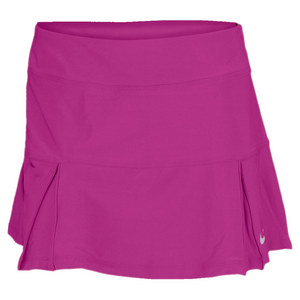 NIKE WOMENS FOUR PLEATED KNIT 14IN SKIRT