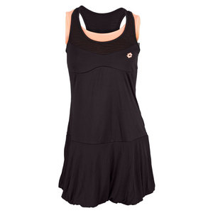 LOTTO WOMENS NIXIA TENNIS DRESS BLACK