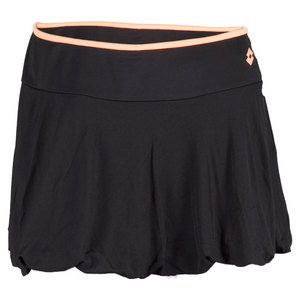 LOTTO WOMENS NIXIA TENNIS SKIRT BLACK