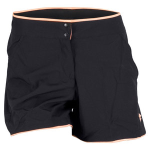 LOTTO WOMENS NIXIA TENNIS SHORT BLACK