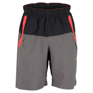 NEW BALANCE MENS APPROACH TENNIS SHORT VELOCITY RED