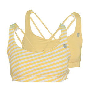 ELEVEN WOMENS REVERSIBLE TENNIS BRA FREESIA/STR