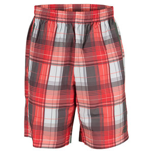 NEW BALANCE MENS COURT TENNIS SHORT VELOCITY RED
