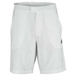 adidas MENS ALL PREMIUM TENNIS SHORT WHITE