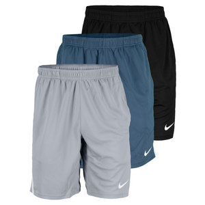 NIKE MEN`S POWER 9 INCH KNIT TENNIS SHORT