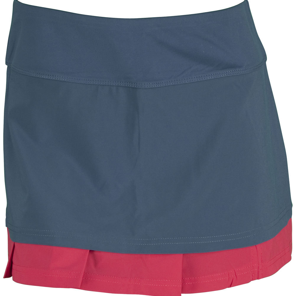 Women's Tropical Punch 13.5 Inch Tennis Skort Slate
