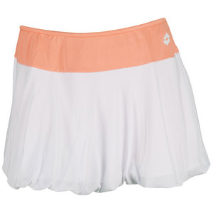 LOTTO WOMENS NIXIA TENNIS SKIRT WHITE