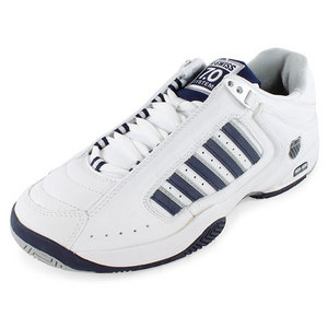 K-SWISS DEFIER RS MENS SHOES WHITE/NAVY