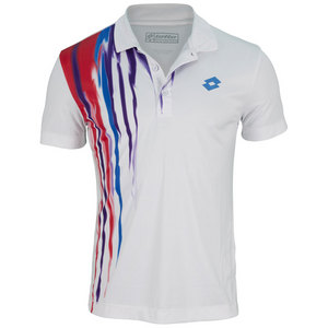 LOTTO MENS CAST TENNIS POLO WHITE