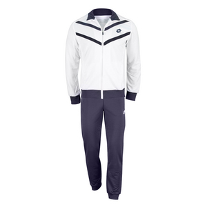 LOTTO MENS BROAD TENNIS SUIT WHITE/ASTER