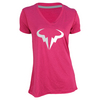 Women`s Vamos Rafa Tennis Tee Bright Magenta by NIKE
