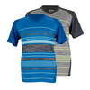 WILSON Boys` Specialist Stripe V Neck Tennis Top