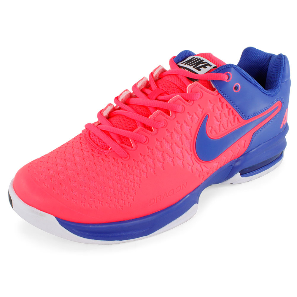 Men's Air Max Cage Tennis Shoes Hyper Punch And Game Royal