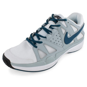 NIKE MENS AIR VAPOR ADVANT SHOES WH/LT M GY
