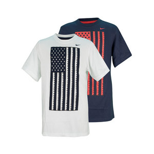 NIKE BOYS USA TEAM TD SOCCER TEE