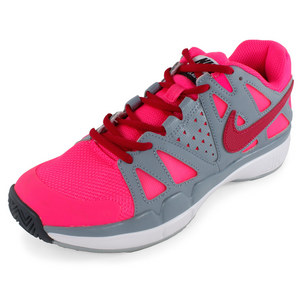 NIKE WOMENS AIR VPR ADVANTAGE TNS SHOES GY/PK