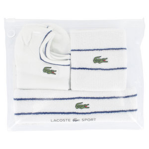 LACOSTE WOMENS MULTI TENNIS ACCESSORIES WH/BL