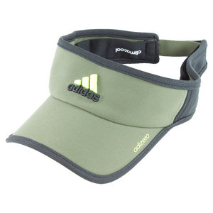 adidas ADIZERO II TENNIS VISOR EARTH GREEN/BK
