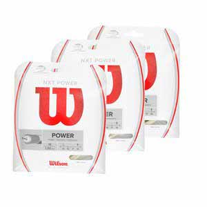 WILSON NXT POWER TENNIS STRING NATURAL