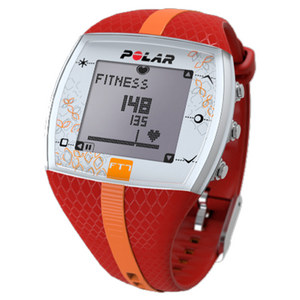 POLAR FT7F WATCH RED AND ORANGE