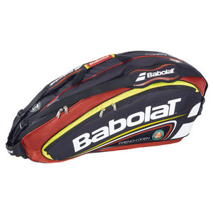 BABOLAT TEAM LINE FRENCH OPEN 6 PACK TENNIS BAG