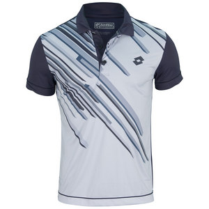 LOTTO MENS SLADE TENNIS POLO ASTER/PEARL