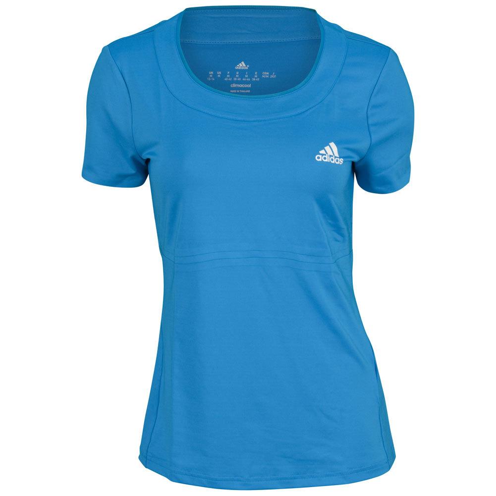 Women's All Premium Tennis Tee Vivid Blue