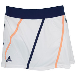 adidas WOMENS RG ON COURT TENNIS SKORT WHITE
