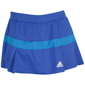 adidas WOMENS ALL PREMIUM SKORT VIVID BLUE