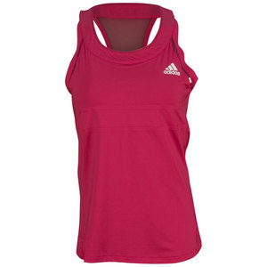 adidas WOMENS ALL PREMIUM TANK VIVID BERRY