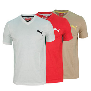 PUMA MENS ICONIC V NECK TEE