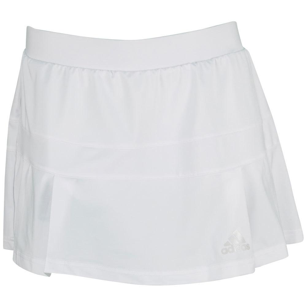 Women's All Premium Tennis Skort White
