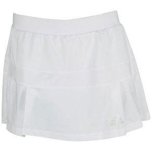 adidas WOMENS ALL PREMIUM TENNIS SKORT WHITE