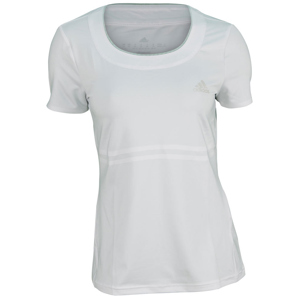 Women's All Premium Tennis Tee White