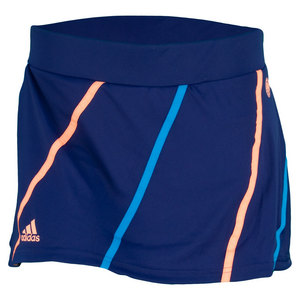 adidas WOMENS RG ON COURT SKORT NIGHT BLUE