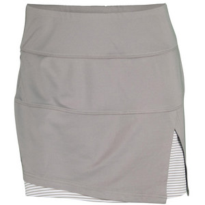 BOLLE WOMENS MANHATTAN 14 IN SKORT TAUPE