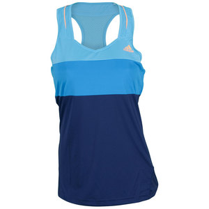 adidas WOMENS RESPONSE TANK NT BLUE/SOLAR BLUE