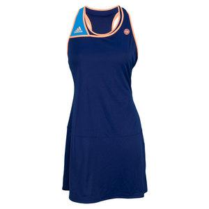 adidas WOMENS RG ON COURT DRESS NIGHT BLUE