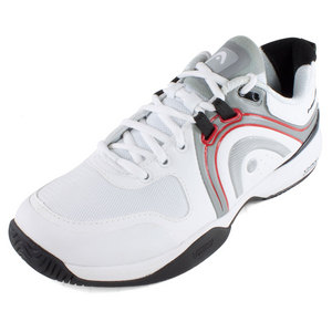 HEAD MENS CRUZE PRO TENNIS SHOES WHITE/BLACK