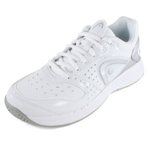 HEAD WOMENS SPRINT TEAM TENNIS SHOES WHITE/GY
