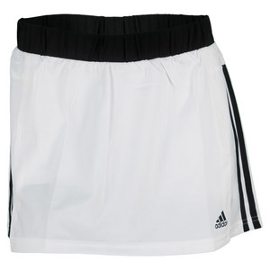 adidas WOMENS RESPONSE 12IN SKORT WHITE/BK