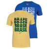 Men`s Brasil Core Type Tee by NIKE