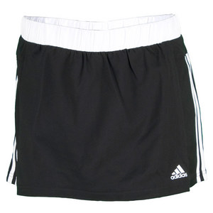 adidas WOMENS RESPONSE 12IN SKORT BLACK/WH